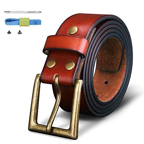 Finrosy Men's Leather Belt 1.57