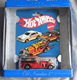 Hot Wheels 30th Anniversary Commerative Replica 1981 Old Number 5 RED