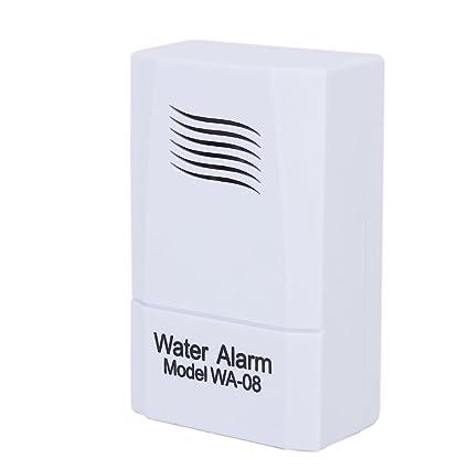 Cikuso 9V Detector de alarma de fugas de agua/nivel/detector ...