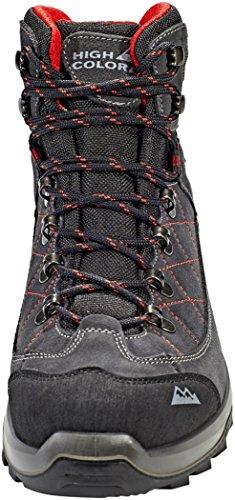 High Colorado Gaebris Mid High Tex Shoes Men Grey/Black 2018 eifBS