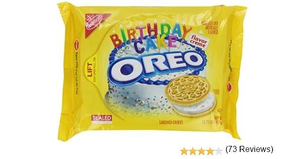 Oreo, Galleta fresca rellena (Birthday Cake) - 432 gr.: Amazon.es ...