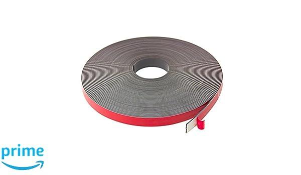 Imán expertos f4mf19abf-5 cinta magnética con Premium espuma adhesivo: Amazon.es: Industria, empresas y ciencia