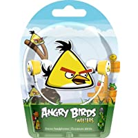 Favor Gear4 HAB006G Angry Birds In-Ear Stereo Headphones - Yellow Bird Tweeters (Discontinued by Manufacturer) deal
