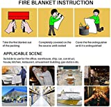 Fire Blanket Fiberglass Fire Emergency Blanket