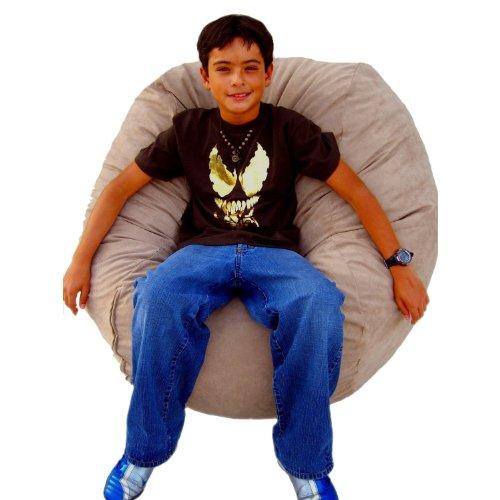 Cozy Sack 3-Feet Bean Bag Chair, Medium, Buckskin by Cozy Sack