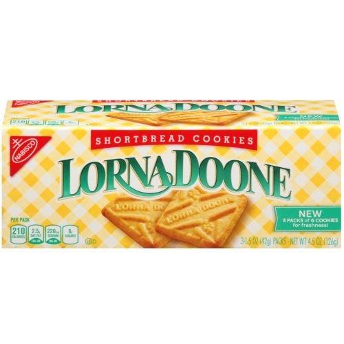 Lorna Doone Shortbread Cookie, 4.5 Ounce - 12 per case.