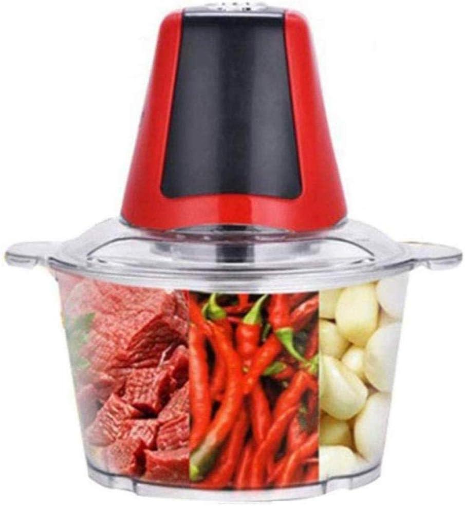 ZTTTD Picadora de Carne, Robot de Cocina de Acero Inoxidable Chopper Alimentos for la Carne, Verduras, Frutas y nueces, tazón de Acero Inoxidable: Amazon.es