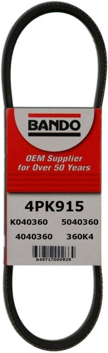 Bando 4 PK 915B 4 PK 915B Multi Rib Serpentine Belt