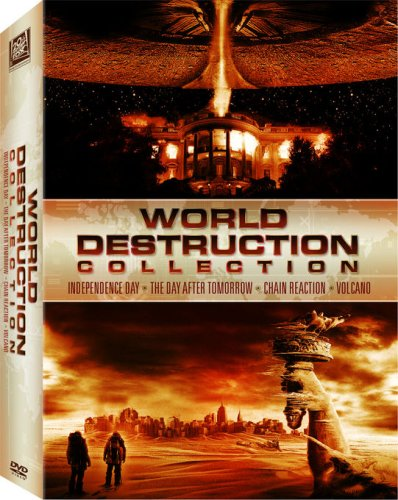 World Destruction Box Set (Independence Day / Chain Reaction / The Day After Tomorrow / Volcano)