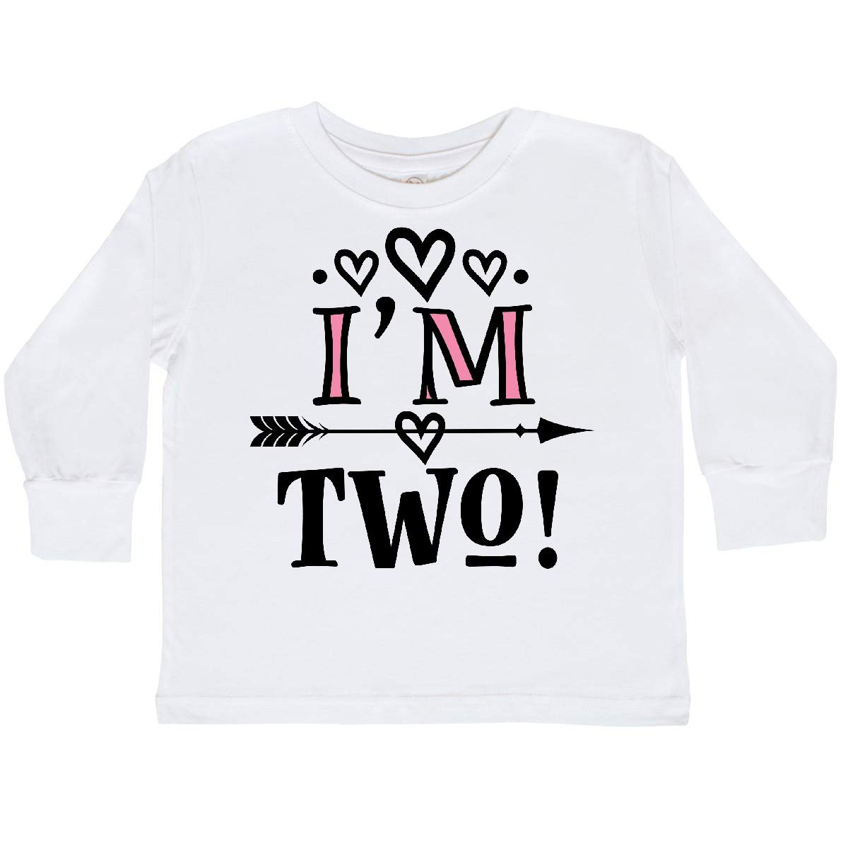 inktastic 2nd Birthday Tribal 2 Year Old Girl Toddler Long Sleeve T-Shirt