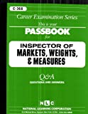 Inspector of Markets, Weights, and Measures, Jack Rudman, 0837303680