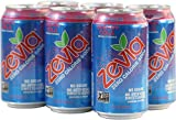 Zevia Zero Calorie Soda, Cherry Cola, 12-Ounce Cans, 6 count