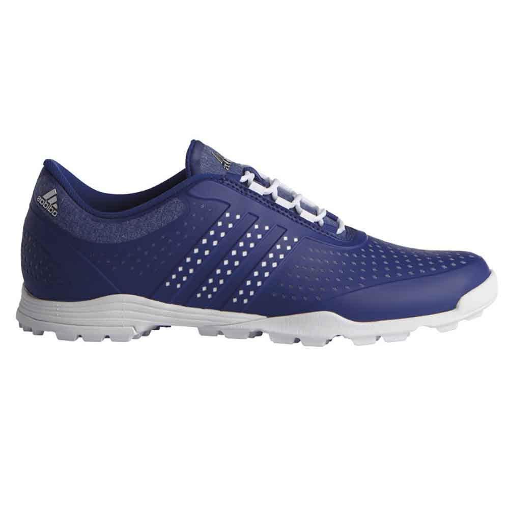 adidas Women's Adipure Sport Golf Shoe, Mystery Ink/White, 6 M US