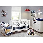 Disney Let's Go Mickey II 4-Piece Crib Bedding Set