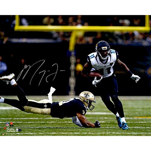 (Marqise Lee Jacksonville Jaguars FAN Autographed Signed 16x20 Juke Photograph - Certified Signature)