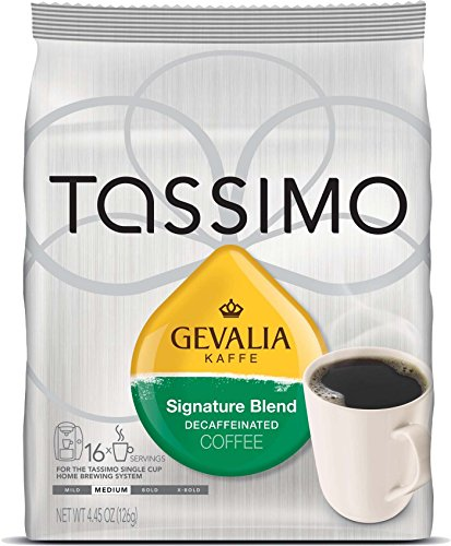 Gevalia Kaffe Signature Blend Decaffeinated Coffee