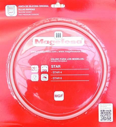 Plastiken Magefesa 09REME22STC - Junta Silicona Olla Magefesa Star 4-6 Desde 20