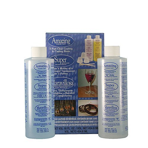 - Alumilite amazing clear cast epoxy resin 16 ounces