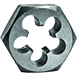 Century Drill & Tool 98215 High Carbon Steel Fractional Hexagon Die, 3/4-10 NC