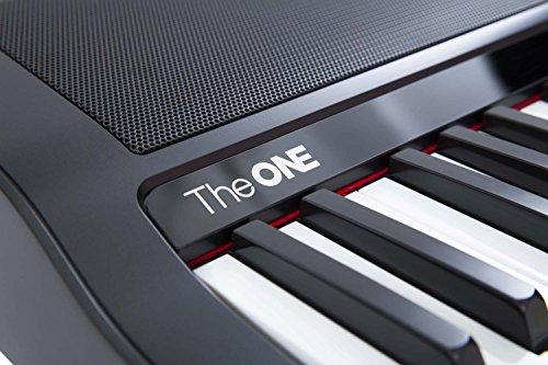The ONE Smart Piano Keyboard, 61-Key Portable Keyboard, The ONE Light Keyboard,  Electric MIDI Keyboard, Black - Image 3