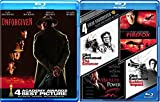 Crime Films of Clint Eastwood 5 Pack Dirty Harry Sudden Impact & The Enforcer + Firefox & Absolute Power / Firefox + Unforgiven Western Movie Collection Film Action Favorites pack