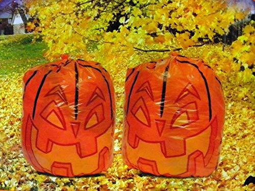 ginsenghalloween Halloween Pumpink Leaf Bags 30