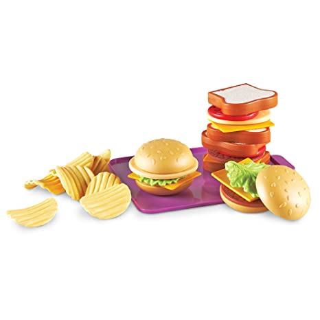 Amazoncom Learning Resources New Sprouts Super Sandwich Set Toys