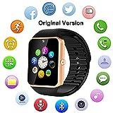 Bluetooth Smart Watch GT08 for Android/iPhone Smart Phones (GT08-Golden)