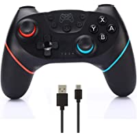 CuleedTec Wireless Switch Pro Controller Gamepad Joystick for Nintendo Switch Console, with Gyro and Gravity Sensor…