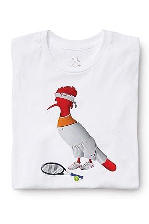 b7e4b72baa0 Camiseta Pica Pau Jogador De Tenis Reserva  Amazon.com.br  Amazon Moda