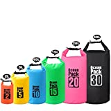 #9: MALELION Waterproof Dry Bag - Roll Top Dry Compression Sack Keeps Gear Dry for Kayaking, Beach, Rafting, Boating, Hiking, Camping, Swimming, Floating and Fishing with Waterproof Phone Case