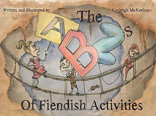 The ABZs of Fiendish Activities (Abc Halloween 2017)