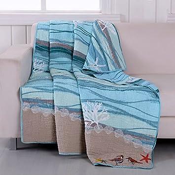 Ocean Inspired Throw Blanket
