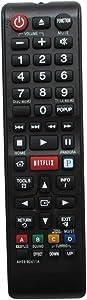 HCDZ Replacement Remote Control with Netflix Pandora Keys for Samsung HT-E3500/ZA HT-E3500/ZC HT-E3500 Blue-ray DVD Home Theater System