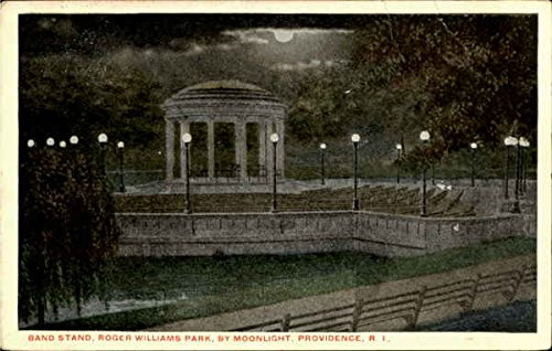 Amazon com: Band Stand Roger Williams Park By Moonlight