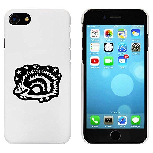 Blanc 'Hérisson' étui / housse pour iPhone 7 (MC00059362)