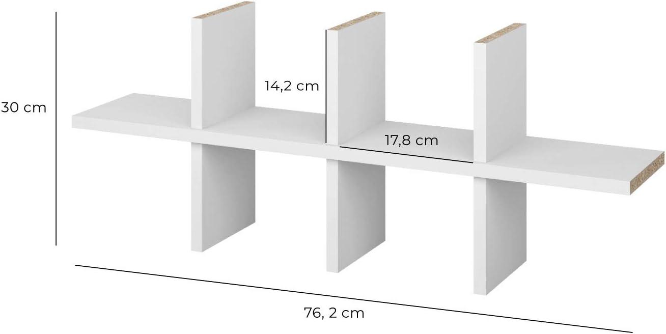 Superelch IKEA Billy - Estantería para CD (hasta 120 CD), color blanco