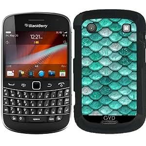 Funda para Blackberry Bold 9900 - Escalas Brillo Aqua by UtArt