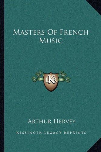 Read Online Masters Of French Music pdf epub