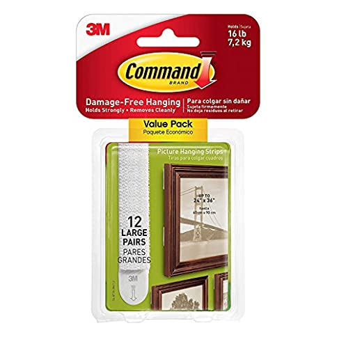 - 51TYVPZWxpL - Command Large Picture and Frame Hanging Strips, 17206 (30 Pairs)
