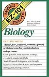 img - for Biology (Barron's EZ-101 Study Keys) book / textbook / text book