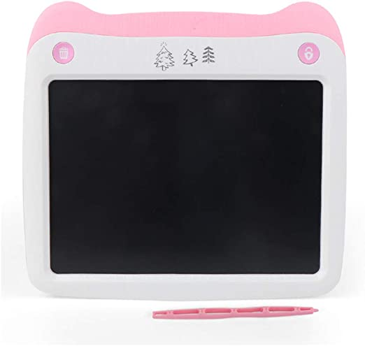 LCD Tablet Portable Monochrome Childrens Painting Board Eyes Fluorescent Writing Board Graffiti Board Childrens Gifts Electronic Hand-Painted Board Educational Toys