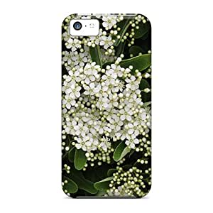 fenglinlinHot Style Wyy8032ZSgc Protective Cases Covers For Iphone5c(little White Flowers Everywhere)