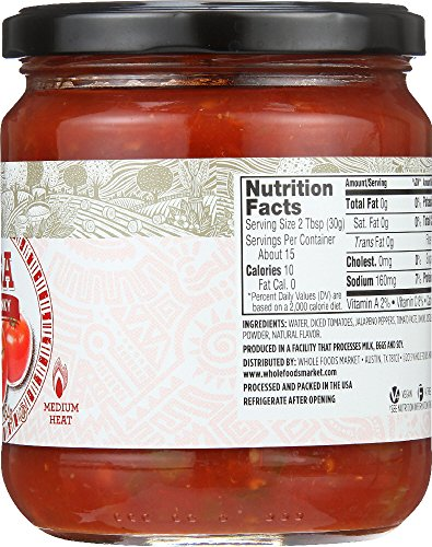 Large Product Image of 365 Everyday Value, Salsa Thick & Chunky, 16 oz