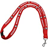 New! Davidson College Wildcats Safety Clip Lanyard NCAA Key ID Badge Holder
