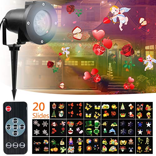 Projection Lights for Halloween - Outdoor Projection Light - High Waterproof Projector Light with...