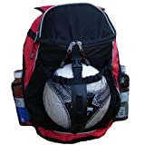 Sport Backpack - Basketball Backpack, Soccer Ball Backpack, Volley Ball Backpack (Red)