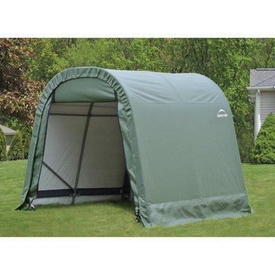 ShelterLogic 76813 Grey 8'x12'x8′ Round Style Shelter