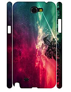 Cool Individualized Fashion Galaxy Pattern Hard Plastic Samsung Galaxy Note 2 N7100 Phone Cover Case