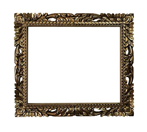 20x24 Shabby chic mirror frame - rectangle gold mid century frame - wedding gift by Fancydecor